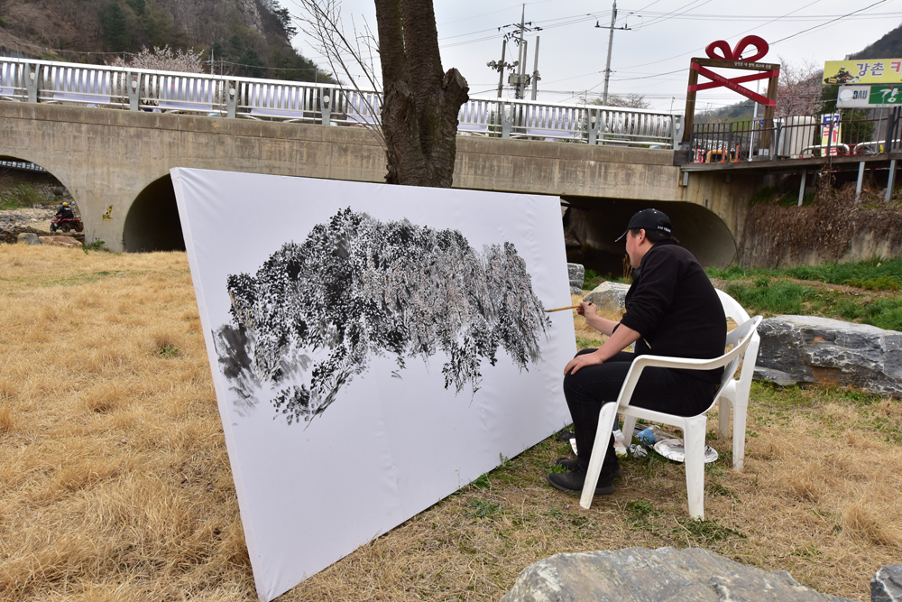 Street Art 강촌여행 이미지 1